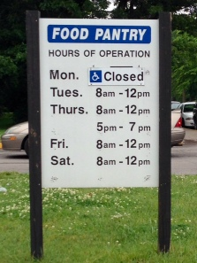 Some people line up 15+ hours before this pantry opens.