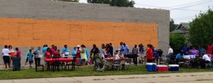 As a part of missional food pantry vision, neighborhood cook out is a great way to reach out to the local community.