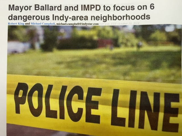Six dangerous Indy neighborhoods