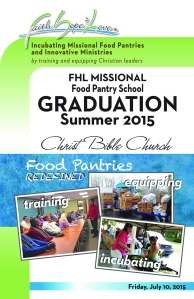 Summer 2015 Food Pantry Graduation!