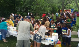Block Party at MLK Community Center